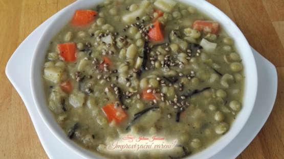 Recept: Sváteční hrachová polévka
