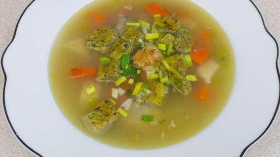 Sváteční bezlepková polévka z kapra ❤️
